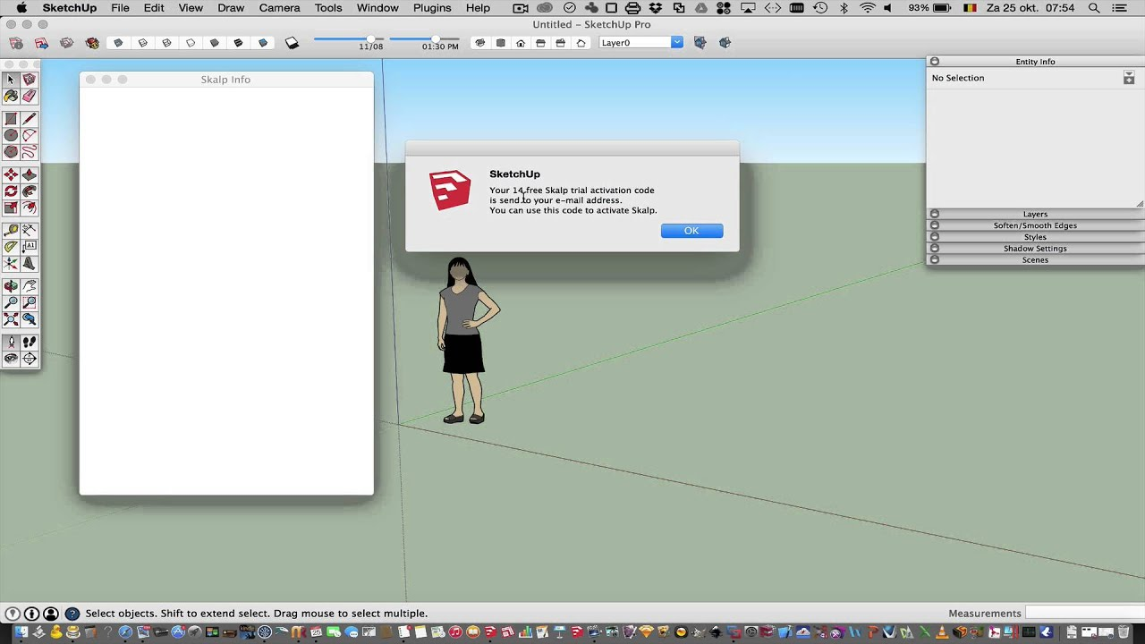 How to install Skalp for SketchUp 14-day FREE TRIAL
