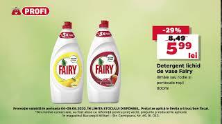 Acum ai Detergent lichid de vase Fairy lămâie sau rodie si portocale roșii 800ml la un pret special
