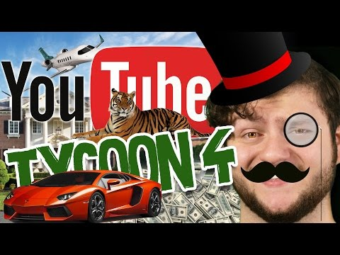 10,000 SUBSCRIBER SPECIAL! | Youtube Tycoon (Funny Moments)