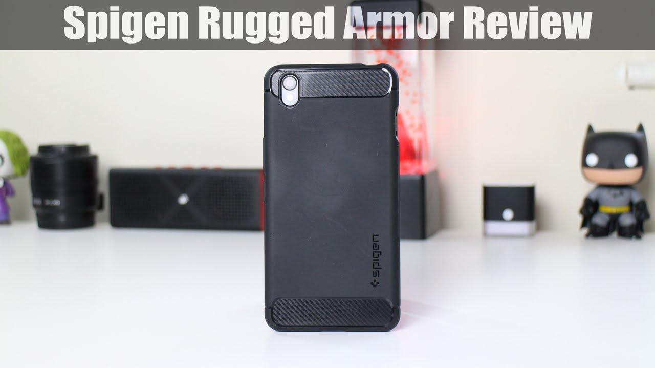 quality design 20878 0ec97 Spigen Rugged Armor Case For OnePlus X Review