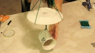 Craft Projects Using A Cup & Saucer As A Bird Feeder : Craft Project Ideas