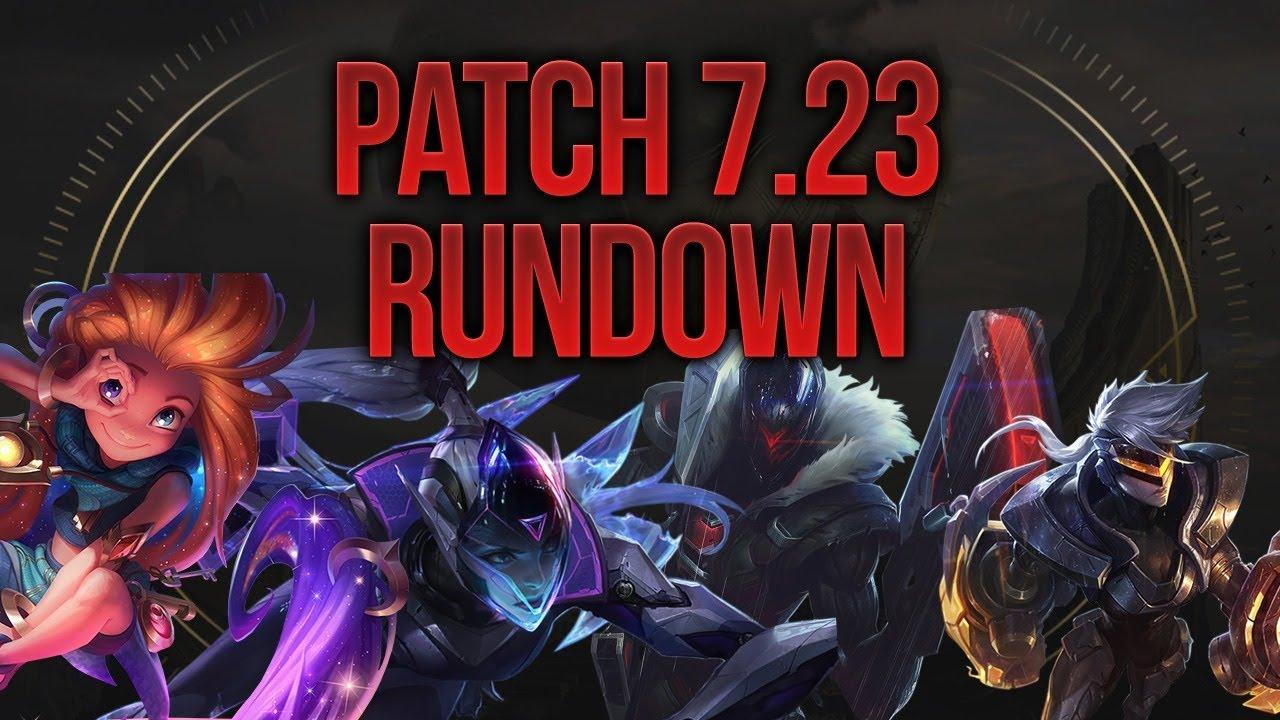 League Patch 7.23