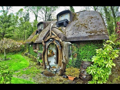 There's A Real life Hobbit House Built In Tomich , Scotland....