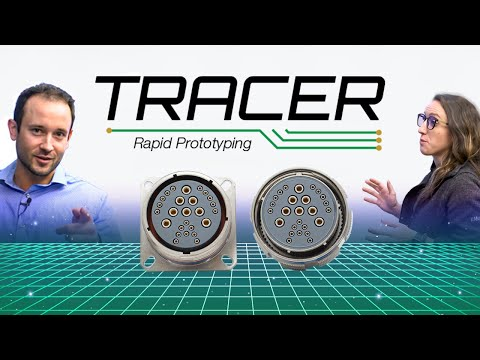 Amphenol Aerospace Introduces TRACER Rapid Prototyping