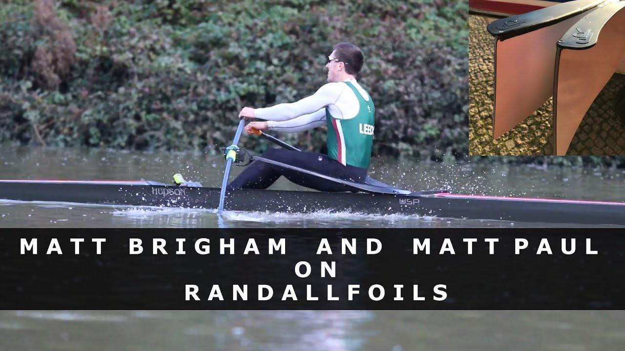 The student who beat the Olympic Champion - Interview Matt Brigham and Matt Paul on Randallfoils