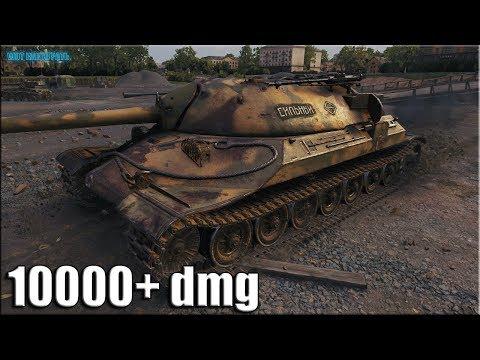 Как играют НЕ статисты на ИС-7 ✅ World of Tanks лучший бой 10к урона