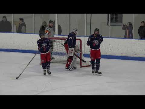 2018 AAA U15 Ohio Blue Jackets Vs Belle Tire P1