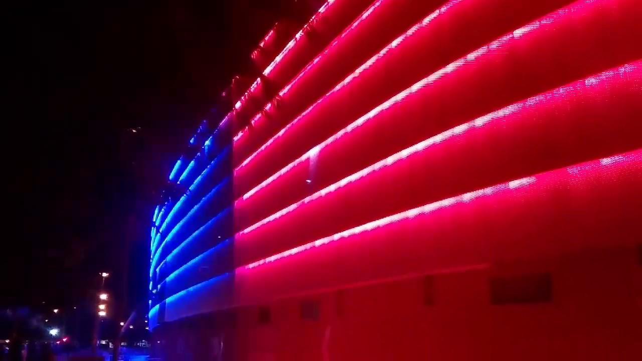 Iluminaci n campo del sevilla youtube - Iluminacion sevilla ...