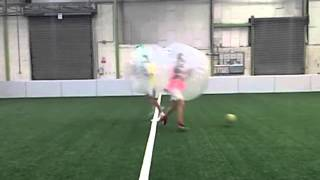 Bubble Soccer Ireland host UK Stag Party in Dublin