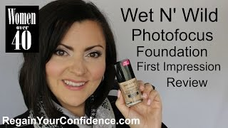wet n wild photofocus foundation first impression review regain your confidence