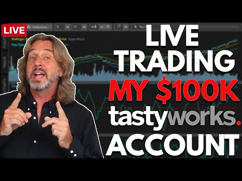 Live Trading My $100k tastyworks Account | Coffee With Markus Episode 70