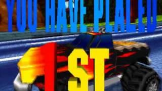 Burning Road Game Sample - Playstation