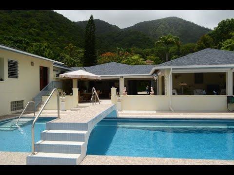 CASSAVA HOUSE in Montserrat BWI – 4 Bedroom Luxury Villa For Sale