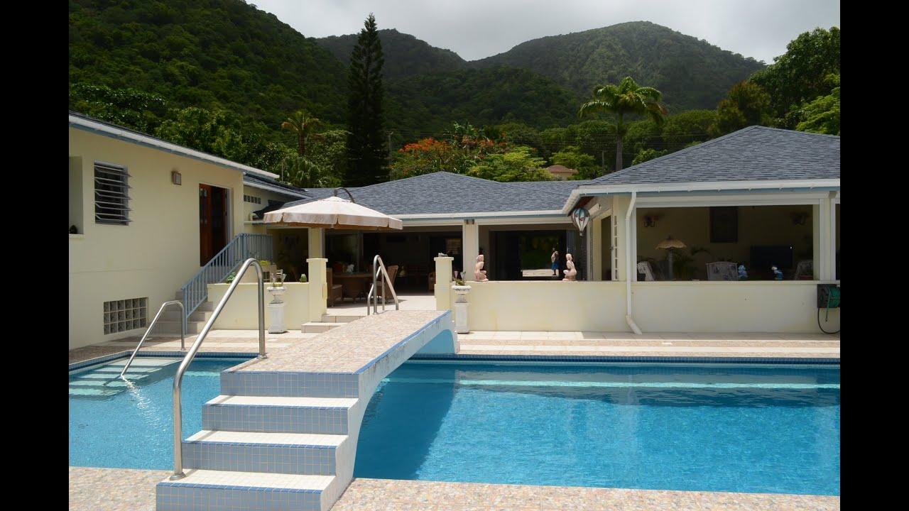 cassava house in montserrat bwi u2013 4 bedroom luxury villa for sale