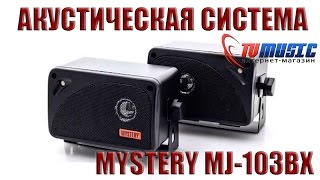 Автомобильная акустика Mystery MJ-103BX. Распаковка и обзор.