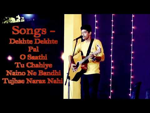 Dekhte Dekhte,Pal,O saathi,Tu Chahiye,- Atif Aslam,Arijit Singh Live | Live Performance By Shivesh