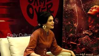 FULL VIDEO: Taapsee Pannu about her Latest Movie 'Game Over' | Taapsee Interview | Daily Culture
