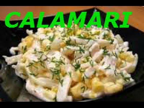 HOW TO CLEAN AND PREPARE SQUID SQUID PILAF