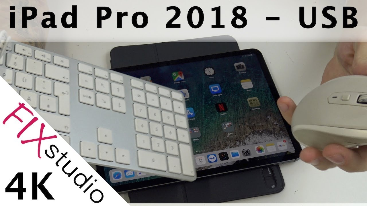 ipad pro 2018 usb port test 4k youtube. Black Bedroom Furniture Sets. Home Design Ideas