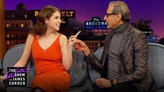 Jeff Goldblum Dipped Anna Kendrick Upon Meeting Her