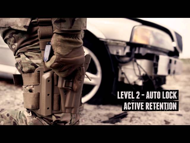 Blackhawk SERPA Level 2 Auto Lock Tactical Holster