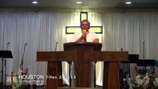 Bro Augustine Jebakumar - Getting Better - Part 1 of 3 - Houston Tamil Church - 20-Mar-2015