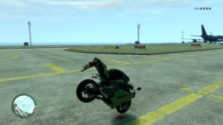 GTAIV stoppie gone wrong