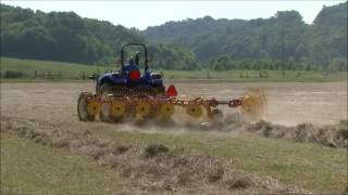 Better Bales with New Holland Hay Rakes