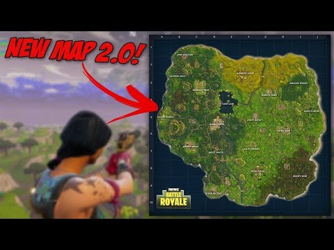 NEW Map 2.0 Update Incoming Later On Today?! // NEW Places To Explore // Fortnite Battle Royale Solo