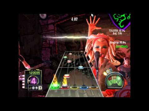 Guitar Hero 3 Custom - Adrenaline Mob - Hit The Wall