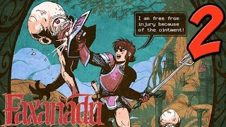 Faxanadu NES Gameplay - PART 2 - Deformed Children of the Wasteland