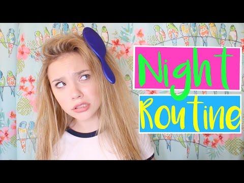 2017 Night Time Routine + DIY's and Lifehacks! | Sasha Morga