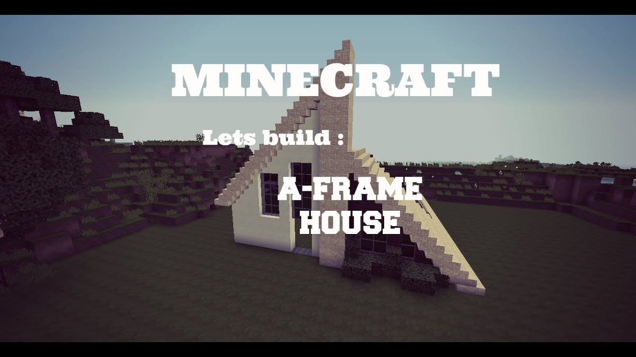 how to build a frame house youtube