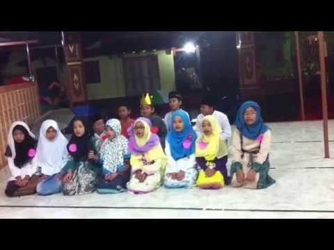 Nadhom Asmaul Husna merdu 99 nama ALLAH anak anak TPA Potrojayan