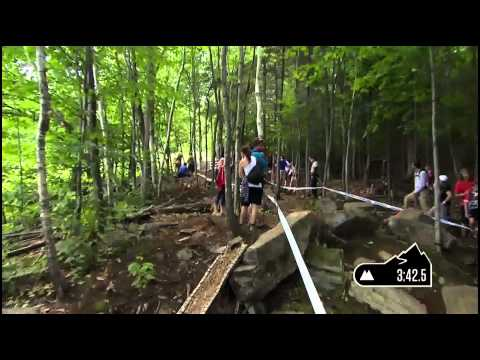 Emmeline Ragot wins @ Mont Sainte Anne, Canada Downhill WC#4 2013