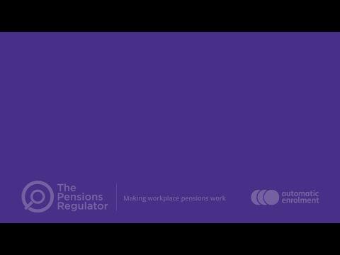 Re-enrolling staff in a pension scheme
