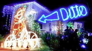 Creative Christmas Light Battle in New Zealand
