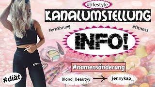 INFOVIDEO - Diät, Fitness, Namensänderung | jennykap_