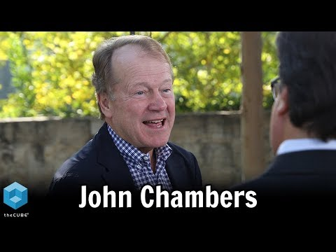 John Chambers, JC2 Ventures | Mayfield People First Network