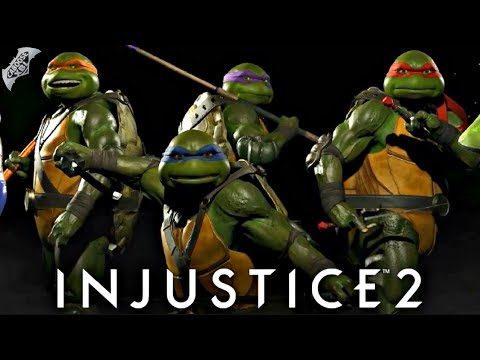 Injustice 2 - How Will the Ninja Turtles Fight?