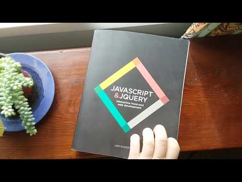 ⭕The One Book I Regret Not Having As A Beginning Web Developer || Jon Duckett JavaScript & JQuery