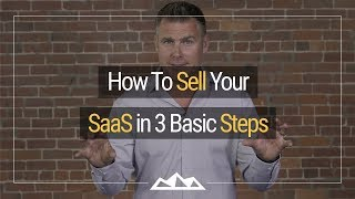 saas sales funnel in 3 basic steps especially in the early days dan martell