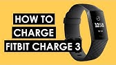 Fitbit Charge 2: How to Charge Your Tracker - YouTube