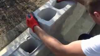 System ogrodzeniowy Amerfence TAB Teknoamerblok montaż ogrodzenia łupane