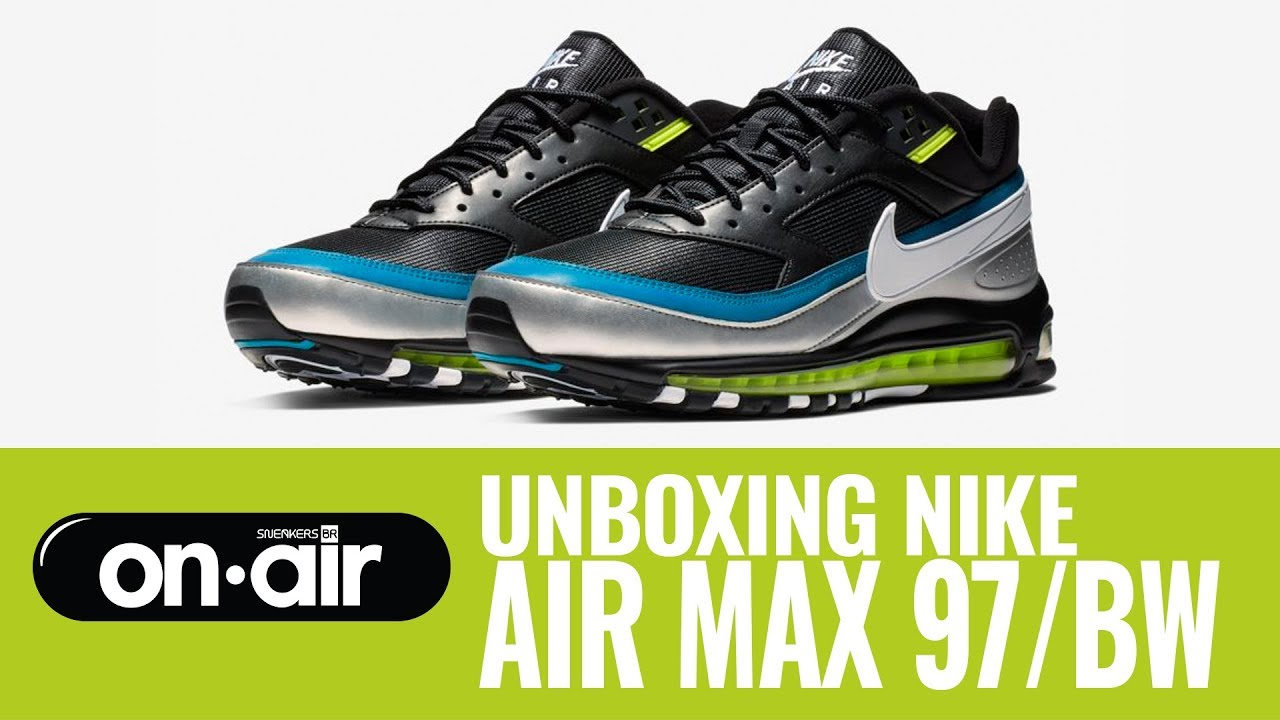 reputable site 78b22 9d49a SBROnAIR Vol. 106 - Unboxing Nike Air Max 97/BW #piranomeuair