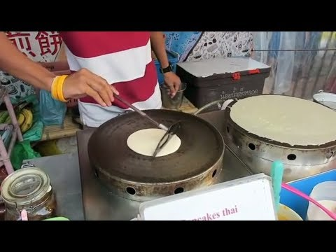 Thai Pancakes – Thai Dessert – Thailand Street Food