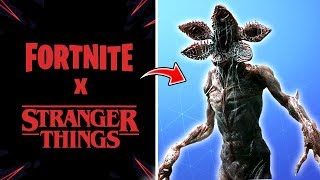 *NEW FILTRATED SKINS* FORTNITE X STRANGER THINGS (Season 9)