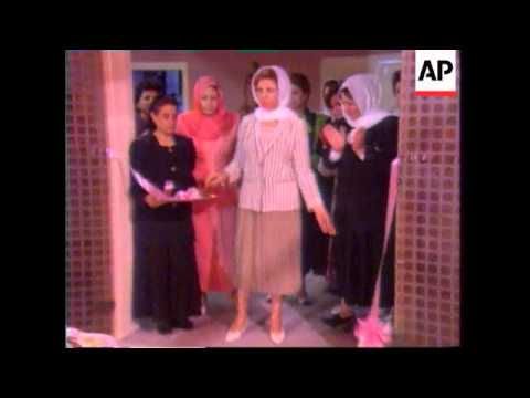 Iraq - Saddam's Wife Discusses Women's Rights