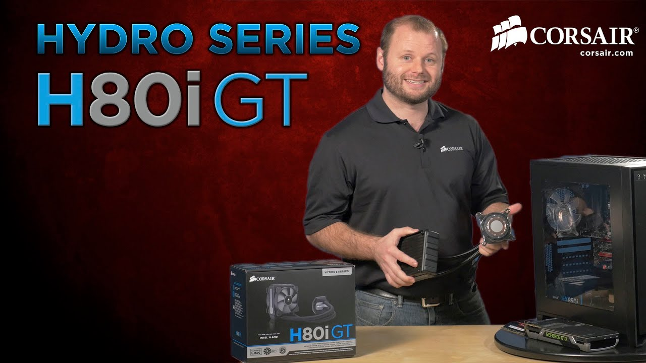 Hydro Series H80i GT Liquid CPU Cooler Installation How To Guide  #0F85BC