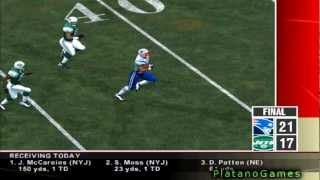 NFL '12 TNF Wk 12 - New England Patriots (7-3) vs New York Jets (4-6) - 2nd Half - NFL 2k5 - HD